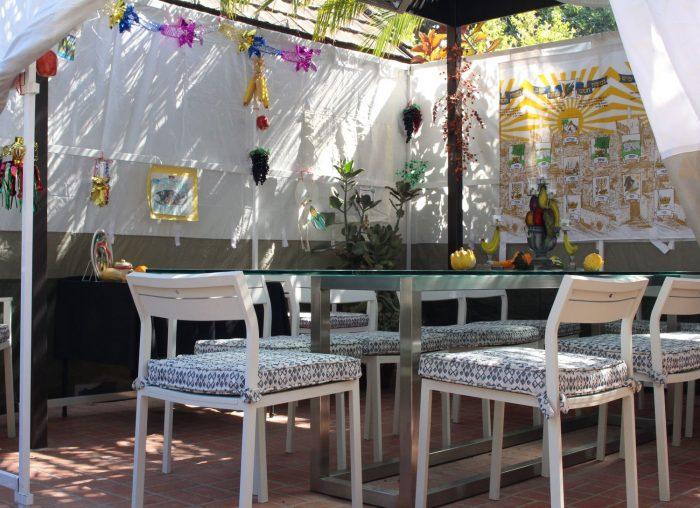 Sukkot Table Setting