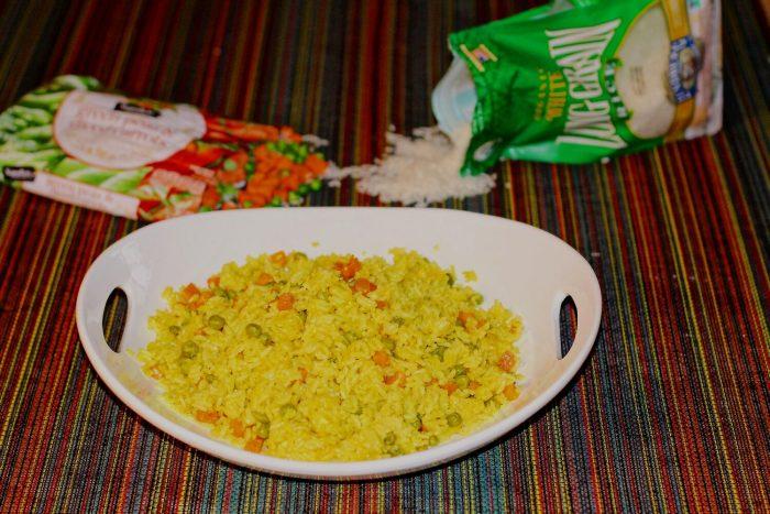 Spanish Rice or Arroz Español.