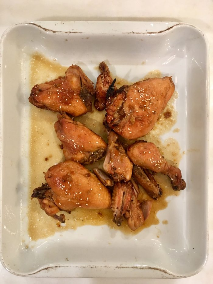Lime and Sesame-Soy Chicken