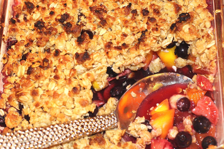 Summer Berry Cobbler Recipe