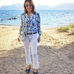 J Brand jeans, Equipment blouse, Robert Clergerie shoes
