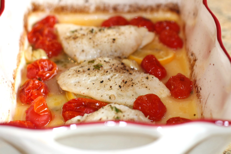 Wild Baked Cod Recipe