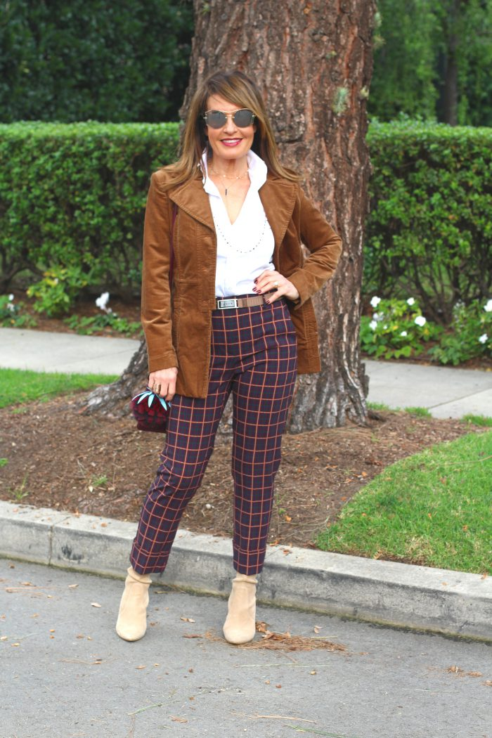 Checkered Theory Pants