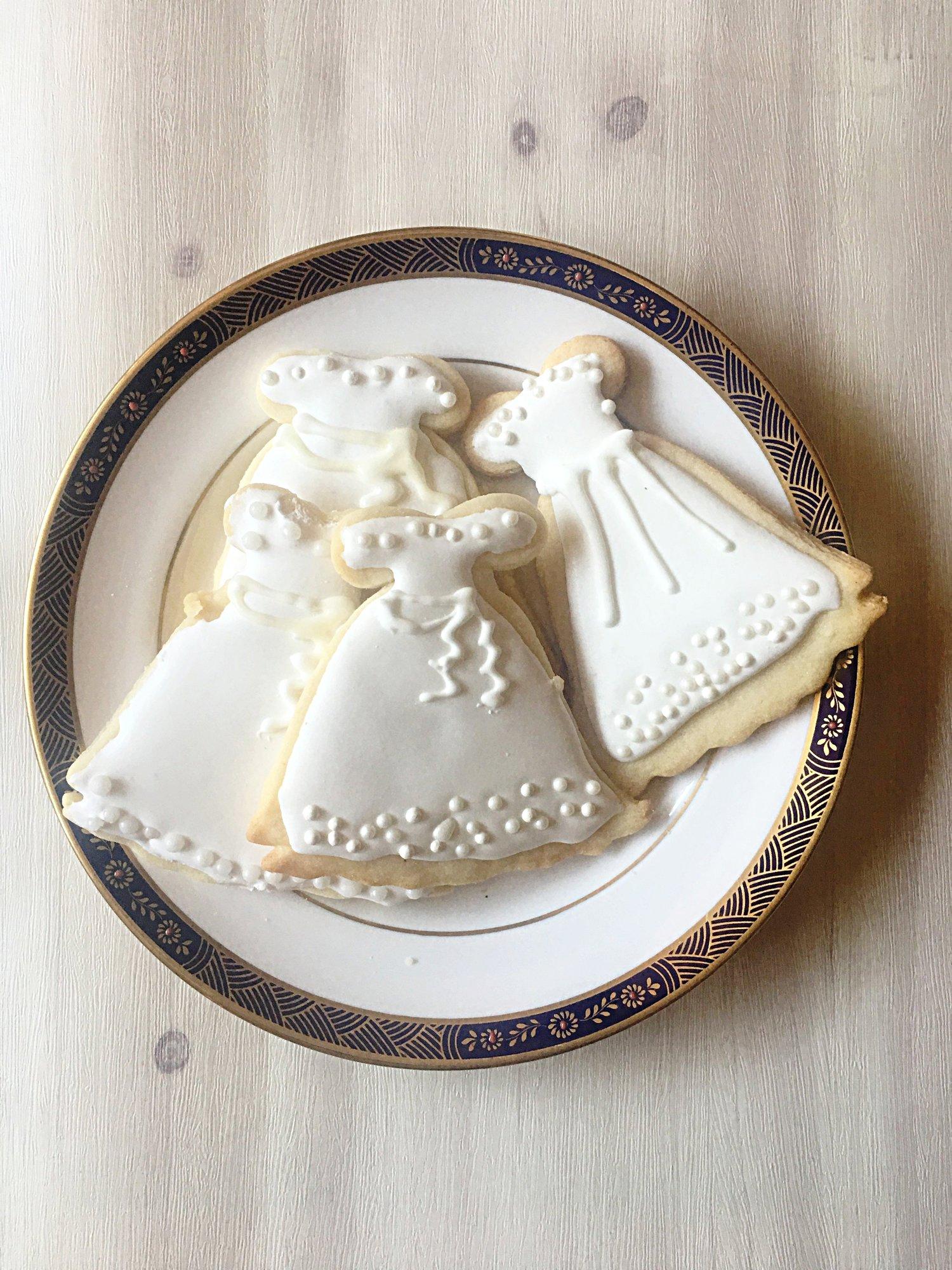 Bridal Cookie Recipe.