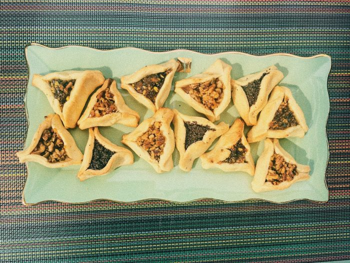 Hamantaschen with Three Fillings.