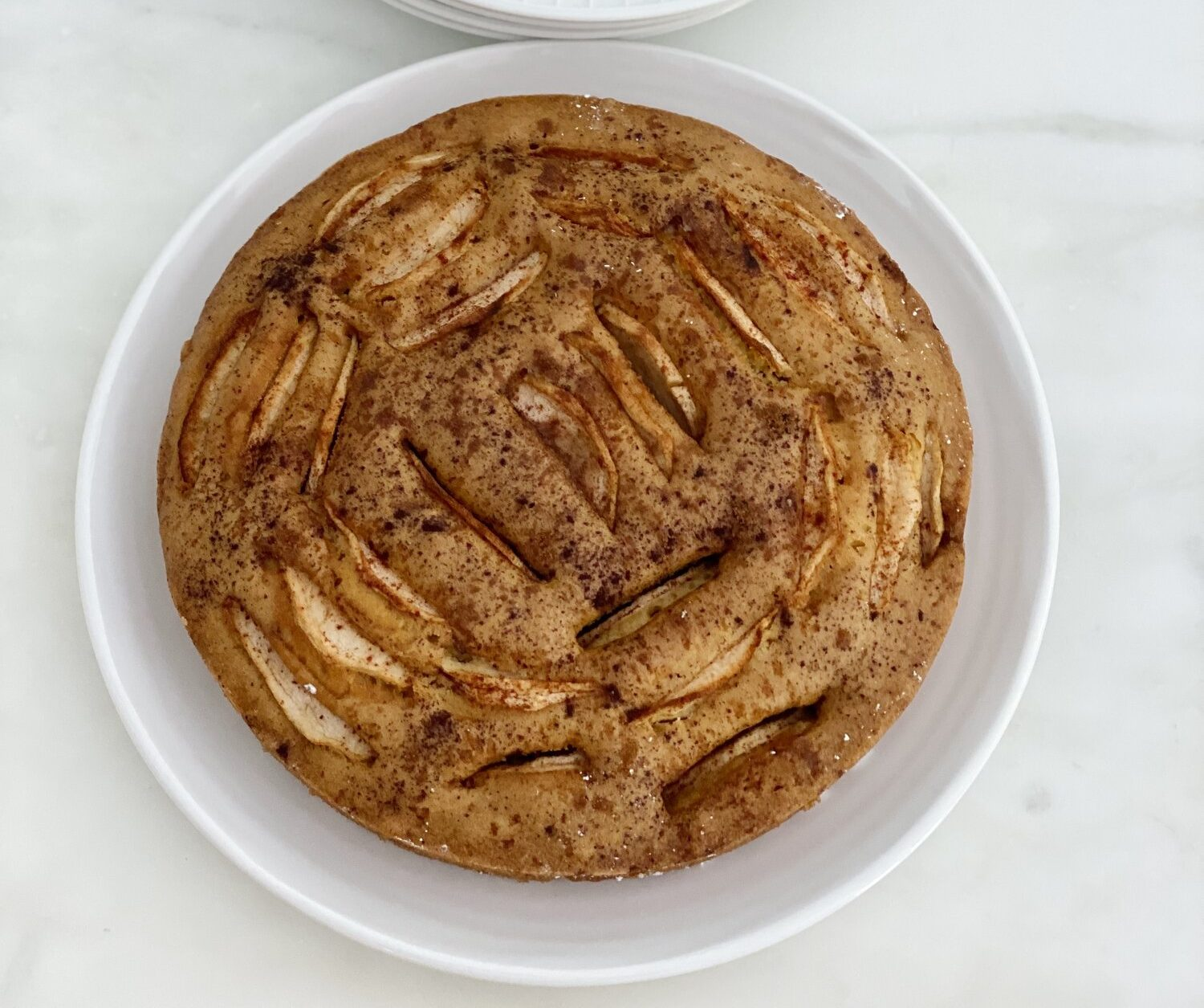Apple and Olive Oil Cake Recipe.