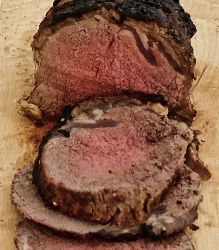 Roast Beef in Balsamic/Dijon Marinade.