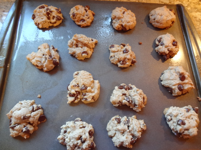 Lesley's Low Fat Chocolate Chip Cookies.