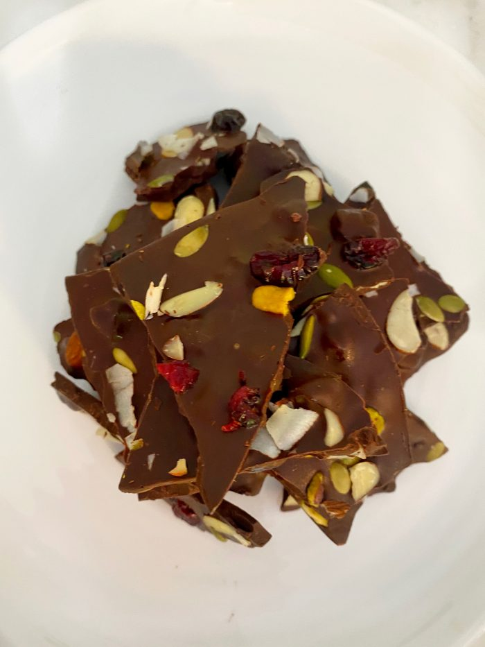 Chocolate Bark Cover