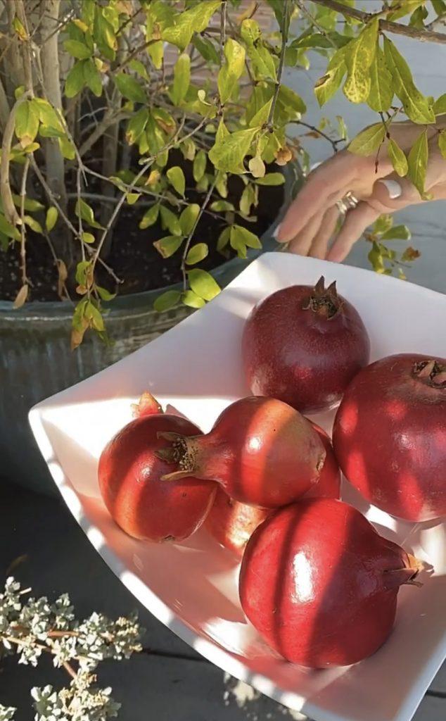Pomegranate Eton Mess