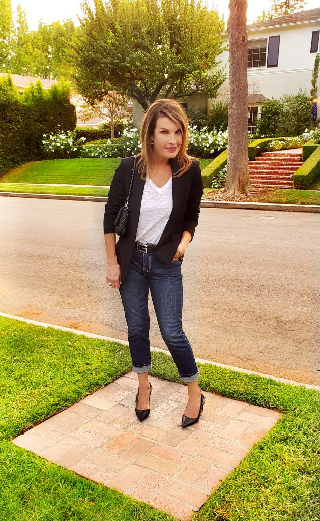 Jeans and a Tee: Four Ways