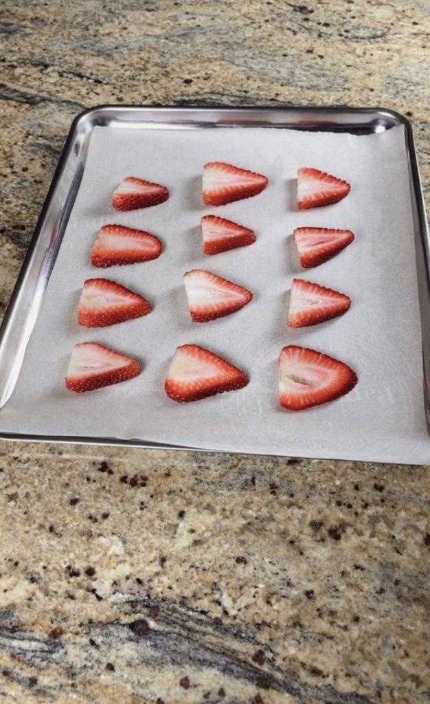 Dark Chocolate with Dried Strawberry and Pistachio