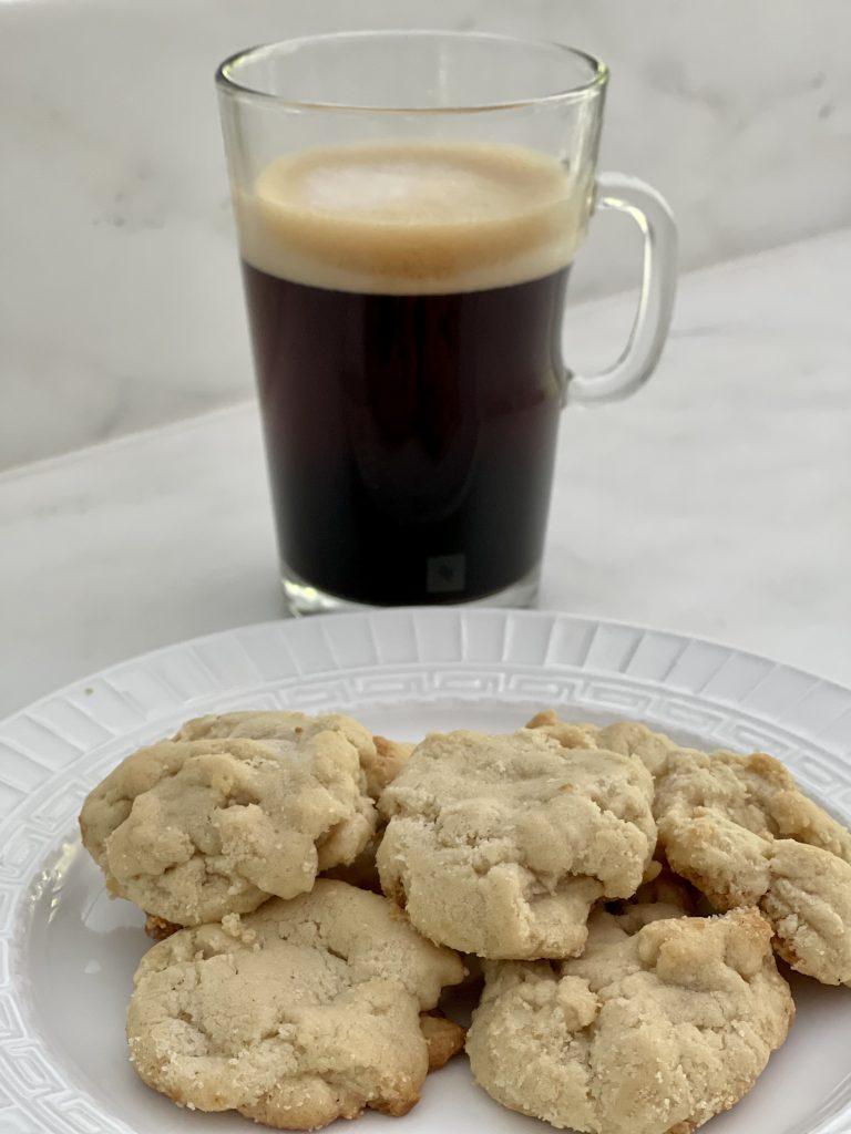 Tahini Shortbread Cookies Recipe